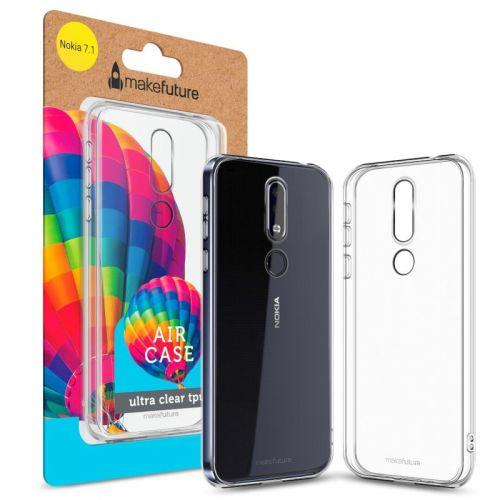 Чехол MakeFuture Air для Nokia 7.1 Clear купить
