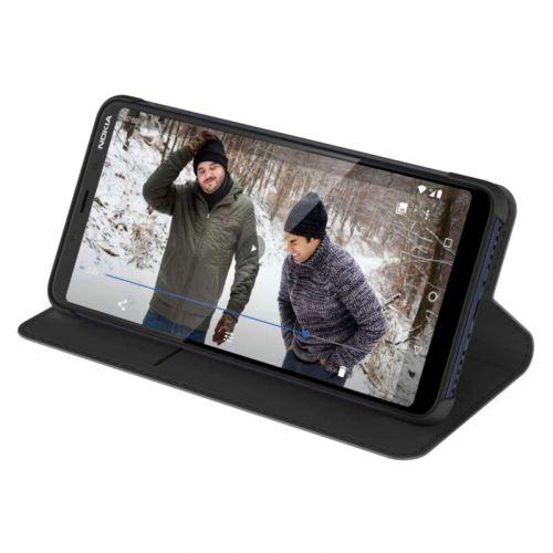 Чехол Nokia Entertainment Flip Cover CC-231 для 3.1 Plus (8P00000043) Black в Украине