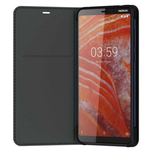 Чехол Nokia Entertainment Flip Cover CC-231 для 3.1 Plus (8P00000043) Black
