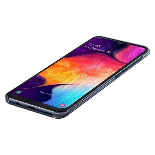 Чехол Samsung Gradation Cover для Galaxy A50 (EF-AA505CBEGRU) Black в Украине