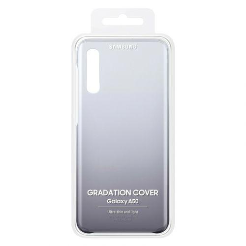 Чехол Samsung Gradation Cover для Galaxy A50 (EF-AA505CBEGRU) Black в интернет-магазине