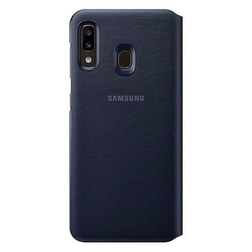 Чехол Samsung Wallet Cover для Galaxy A20 (EF-WA205PBEGRU) Black недорого