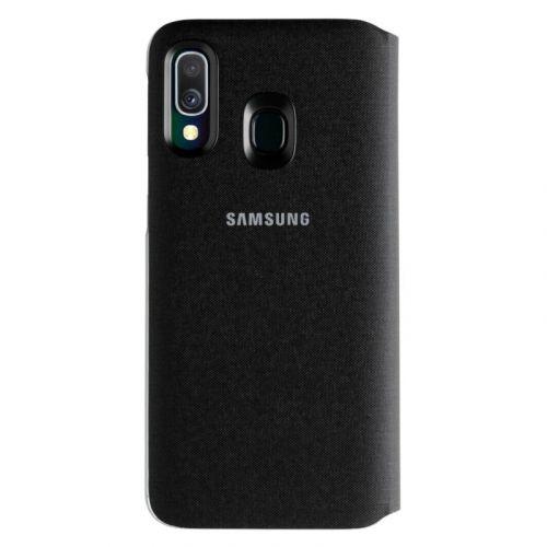 Чехол Samsung Wallet Cover для Galaxy A40 (EF-WA405PBEGRU) Black недорого