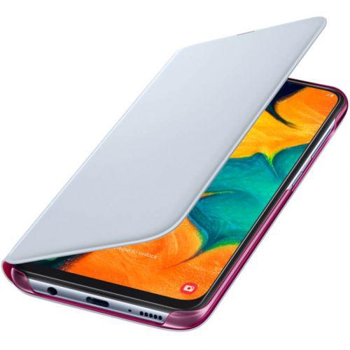Чехол Samsung Wallet Cover для Galaxy A30 (EF-WA305PWEGRU) White