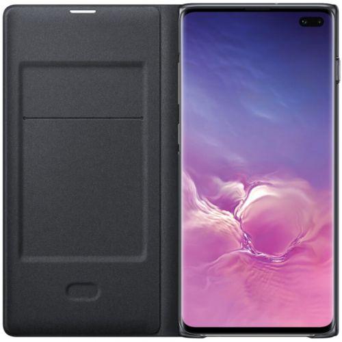 Чехол Samsung LED View Cover для Galaxy S10 Plus (EF-NG975PBEGRU) Black купить
