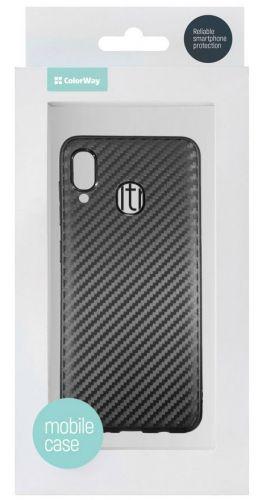 Чехол ColorWay TPU Carbon для Samsung Galaxy A30 (Black) недорого