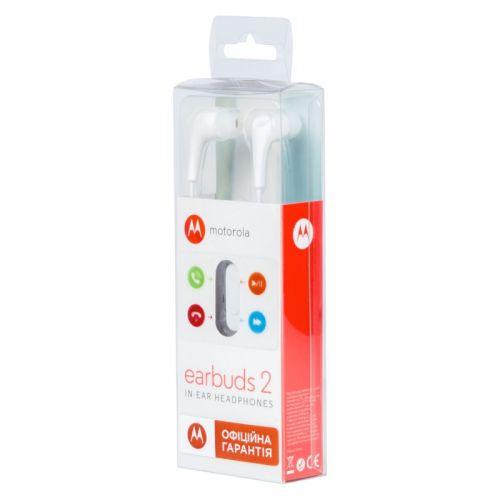 Гарнитура Motorola Earbuds 2 White недорого
