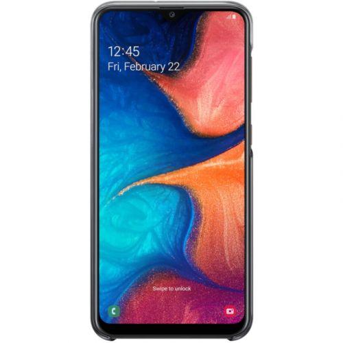 Чехол Samsung Gradation Cover для Galaxy A20 (EF-AA205CBEGRU) Black недорого