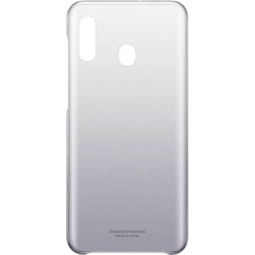 Чехол Samsung Gradation Cover для Galaxy A20 (EF-AA205CBEGRU) Black