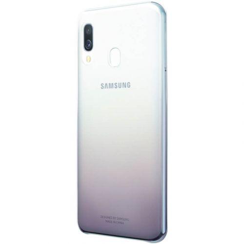 Чехол Samsung Gradation Cover для Galaxy A40 (EF-AA405CBEGRU) Black в Украине