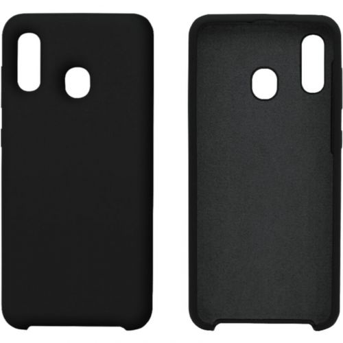 Чехол Intaleo Velvet для Samsung Galaxy A30 (Black)