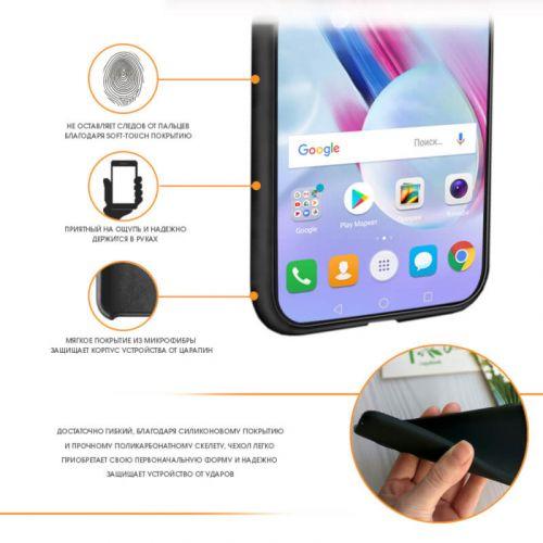 Чехол Intaleo Velvet для Samsung Galaxy A30 (Black) недорого