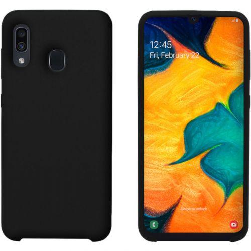 Чехол Intaleo Velvet для Samsung Galaxy A30 (Black) купить
