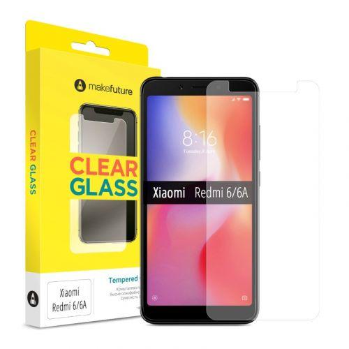 Защитное стекло MakeFuture для Xiaomi Redmi 6/6A