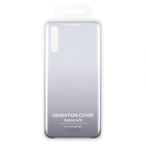 Чехол Samsung Gradation Cover для Galaxy A70 Black фото