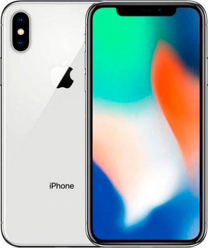 Смартфон Apple iPhone X 256GB (MQAG2) Silver