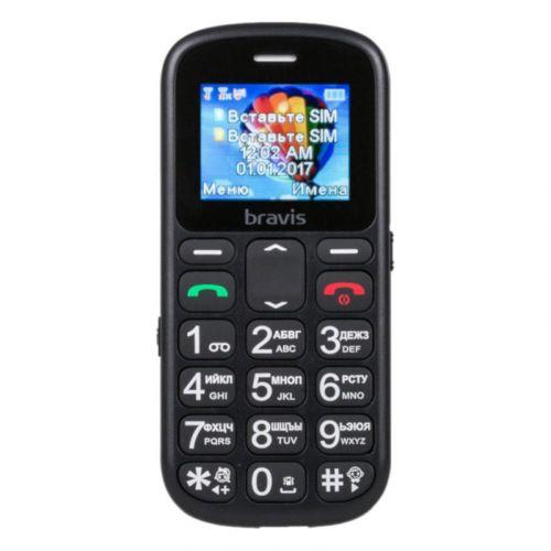 Мобильный телефон Bravis C181 Senior Dual Sim Black
