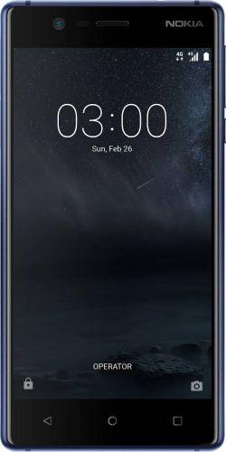 Смартфон Nokia 3 Dual Sim Tempered Blue купить
