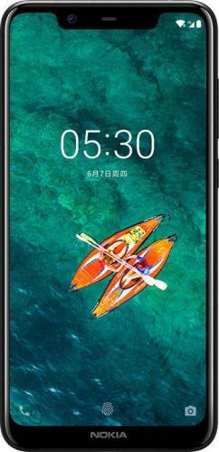Смартфон Nokia 5.1 Plus 3/32GB Black купить