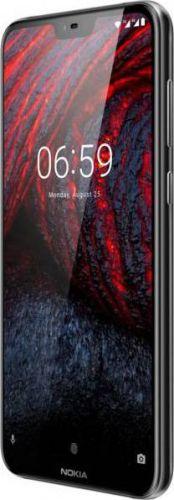 Смартфон Nokia 6.1 Plus 4/64GB Black в Украине