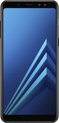 Смартфон Samsung Galaxy A8 2018 4/32GB Black купить