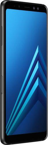 Смартфон Samsung Galaxy A8 2018 4/32GB Black фото