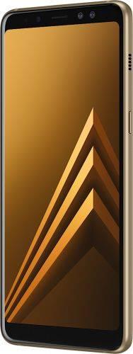 Смартфон Samsung Galaxy A8 Plus 2018 4/32GB Gold в Украине