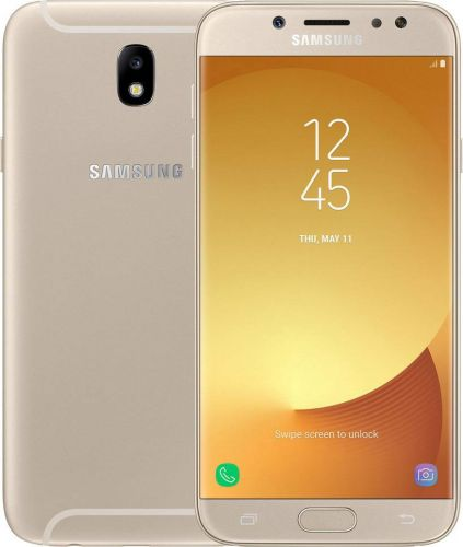 Смартфон Samsung Galaxy J7 2017 Gold